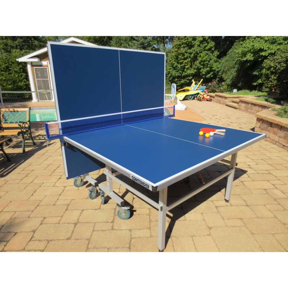 Contender Outdoor Ping Pong Table Tennis Set