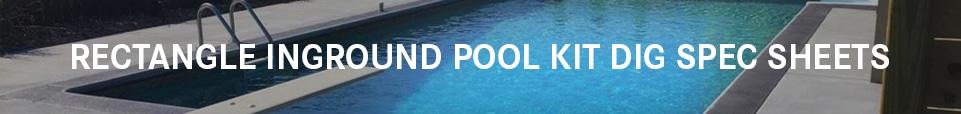 Swimming Pool Kit Dig Sheets