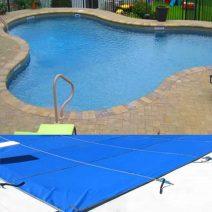 Lagoon Amoeba Safety Pool Cover