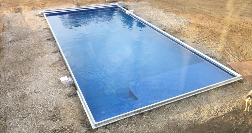 Automatic Swimming Pool Cover Installation