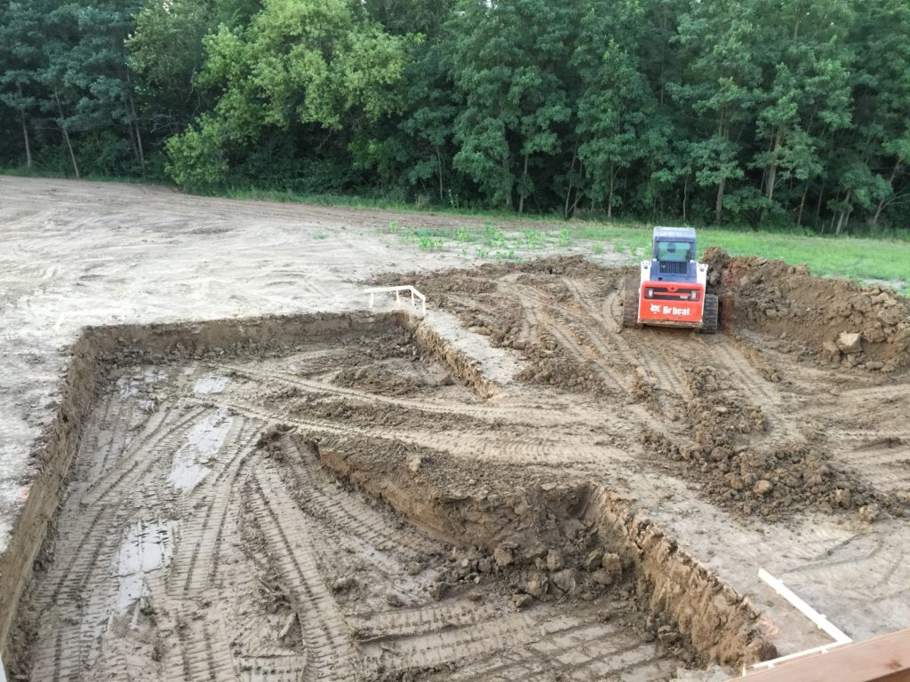 Swimming Pool Excavating : Automatic swimming pool cover installation warehouse
