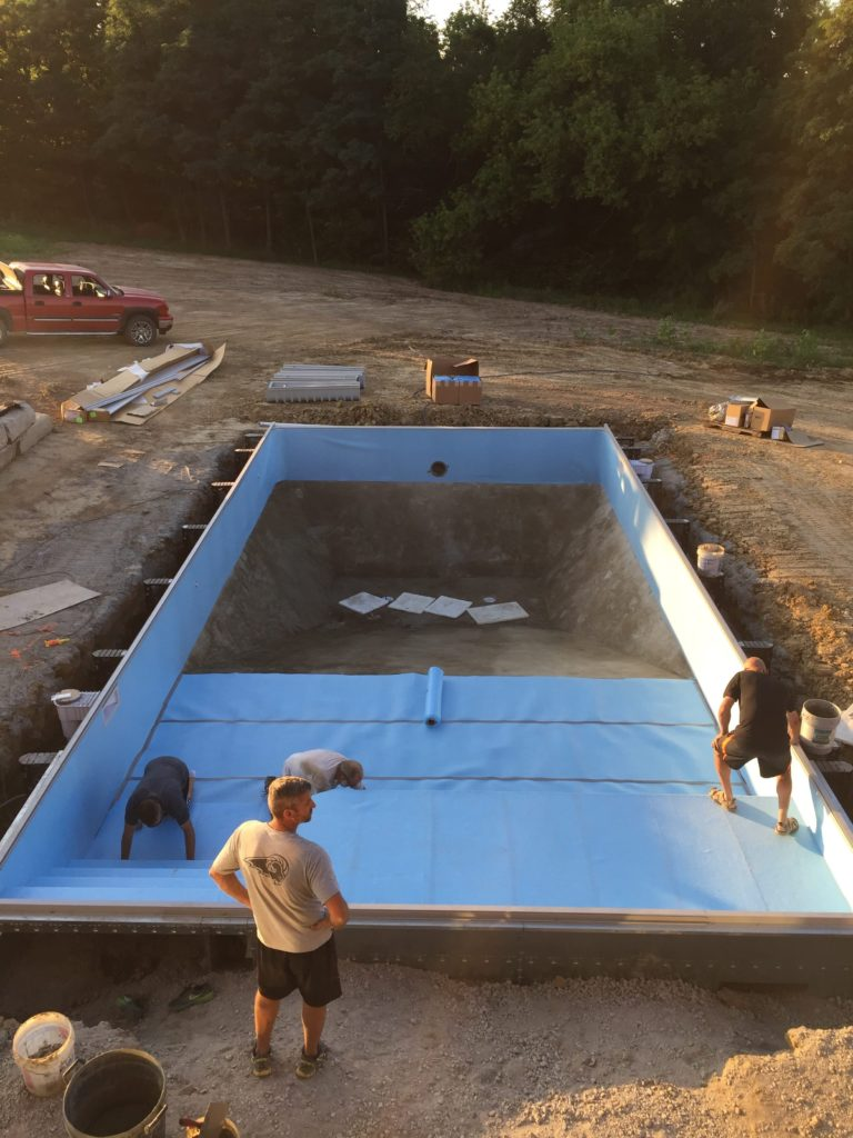 Automatic Swimming Pool Cover Installation Pool Warehouse