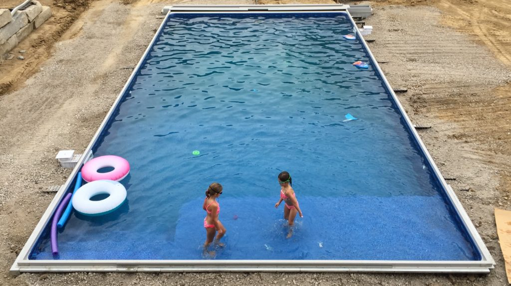 In Ground Swimming Pool Kits