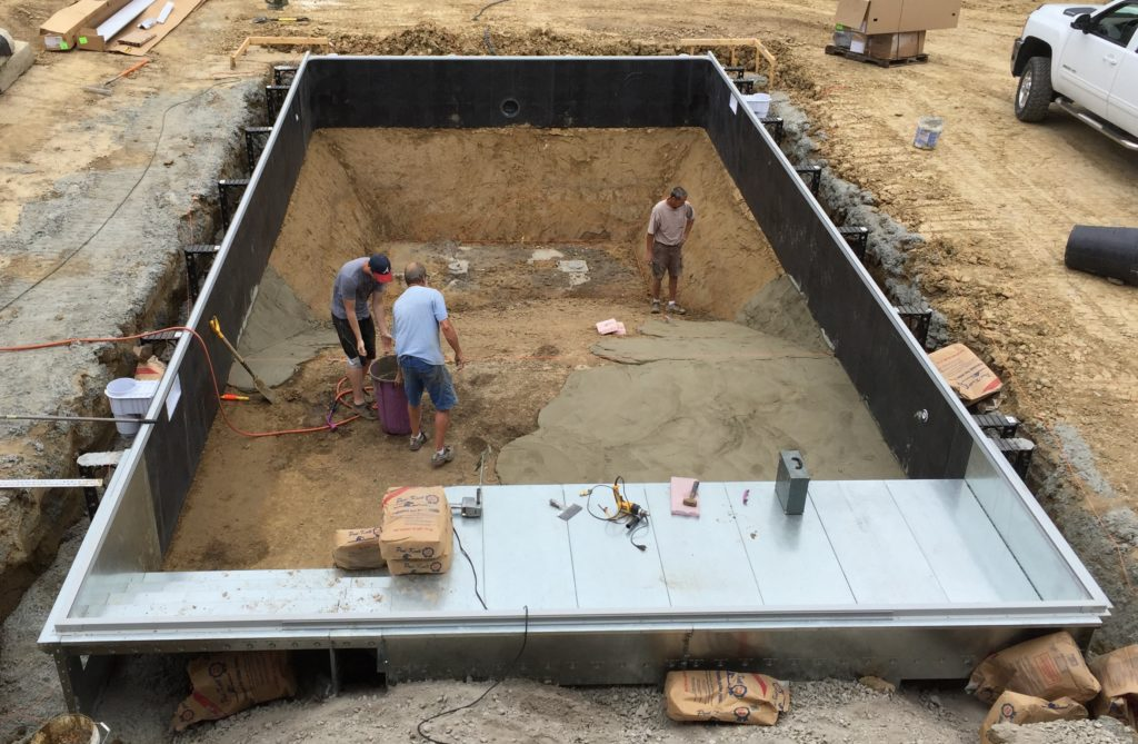 finishing-the-pool-floor