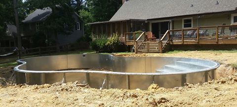 2016 Swimming Pool Kit Construction Pictures