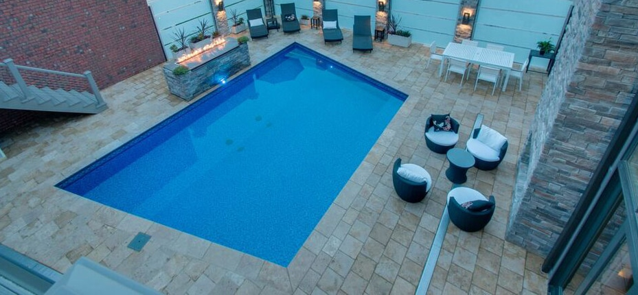 rooftop swimming pool pictures