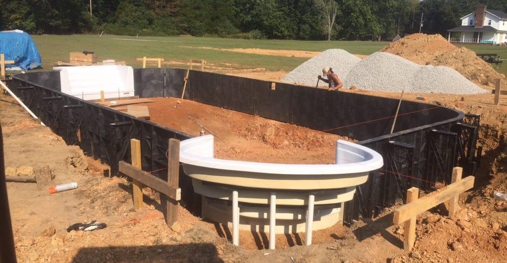 DIY Inground Swimming Pool