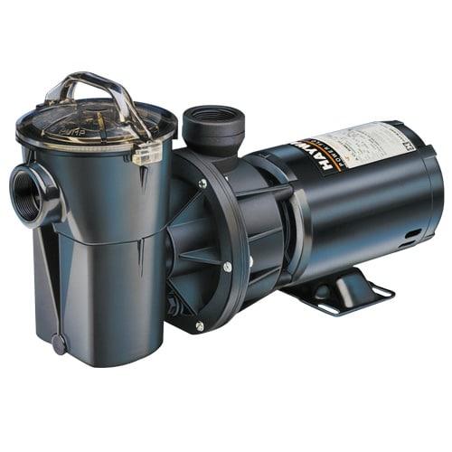 Hayward 1 Hp Power-Flo II Pump W/Strainer SP1780 on