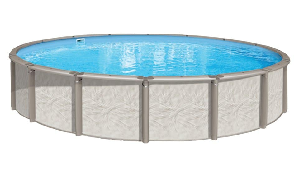 """Round 54"""" Deep Deluxe Above Ground Pool Kit"""