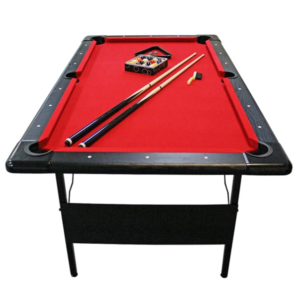 Bourbon Street Pool Table Fairmont Portable Pool Table - Hathaway fairmont pool table