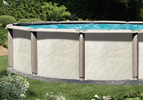 21 39 X 43 39 Oval 54 Deep Deluxe Above Ground Pool Kit
