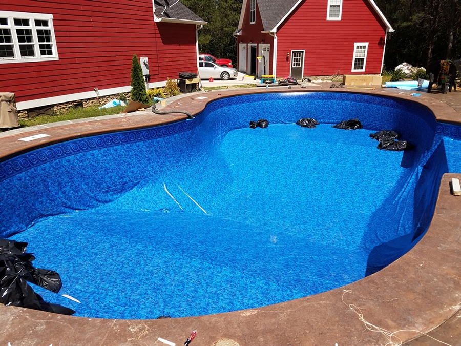 Branam family swimming pool kit construction in tennessee replacement inground swimmming pool liners solutioingenieria Image collections