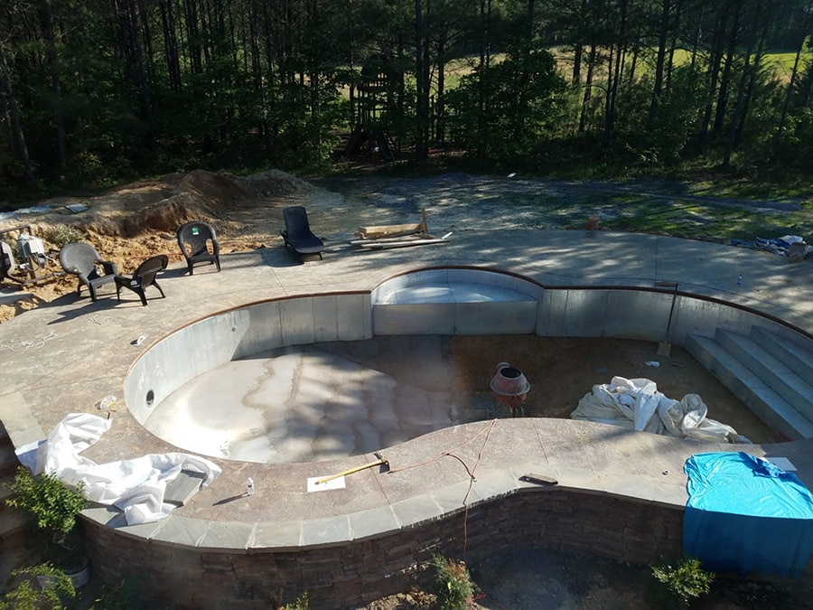 Tennessee swimming pool kit build pool warehouse swimming pool kit construction solutioingenieria Image collections