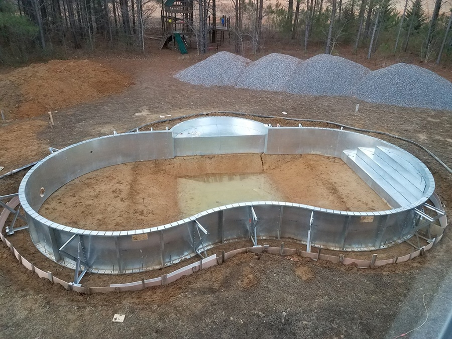 Tennessee swimming pool kit build pool warehouse mountain loch swimming pool kit solutioingenieria Image collections