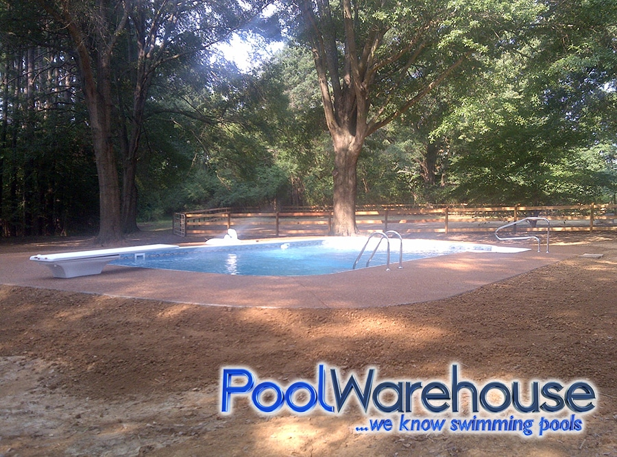 2017 inground swimming pool kit construction photos pool - Swimming pool contractors memphis tn ...