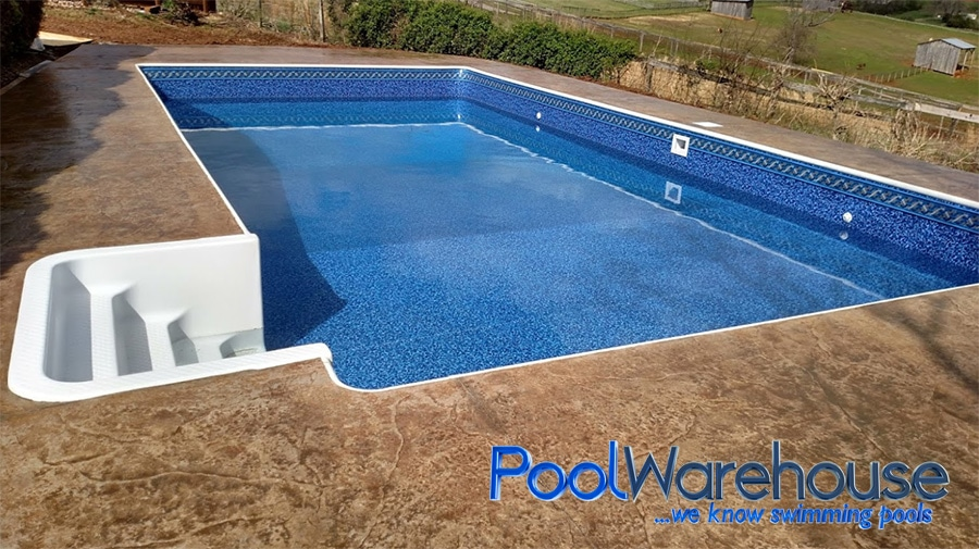 Bullnose and cantilever swimming pool coping styles for Types of inground swimming pools