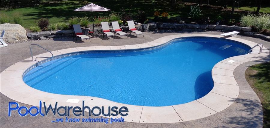 2017 inground swimming pool kit construction photos pool for Inground pool builder