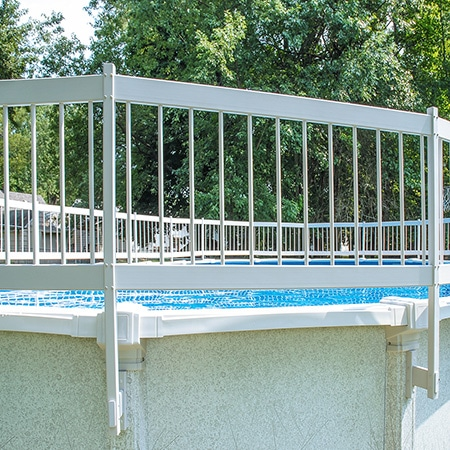 Protect A Pool Above Ground Safety Fence Kit B Pool