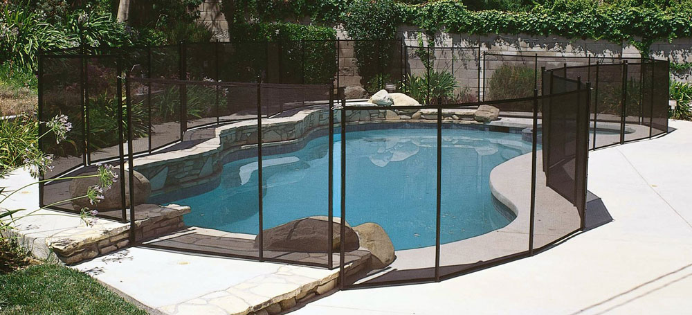 12\' x 5\' Safety Fence for In-Ground Pools - Pool Warehouse