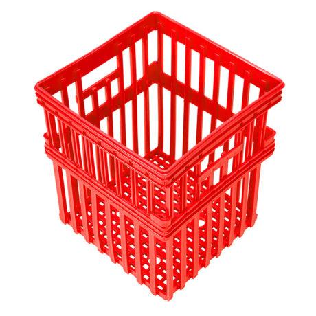 Tall Plastic Nesting Crate
