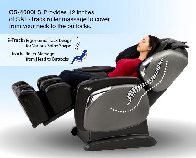 Osaki OS 4000LS Zero Gravity Massage Chair