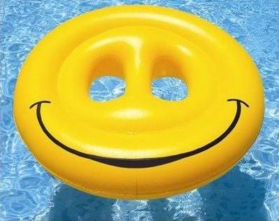 "72"" Heavy Duty Smiley Face Island"
