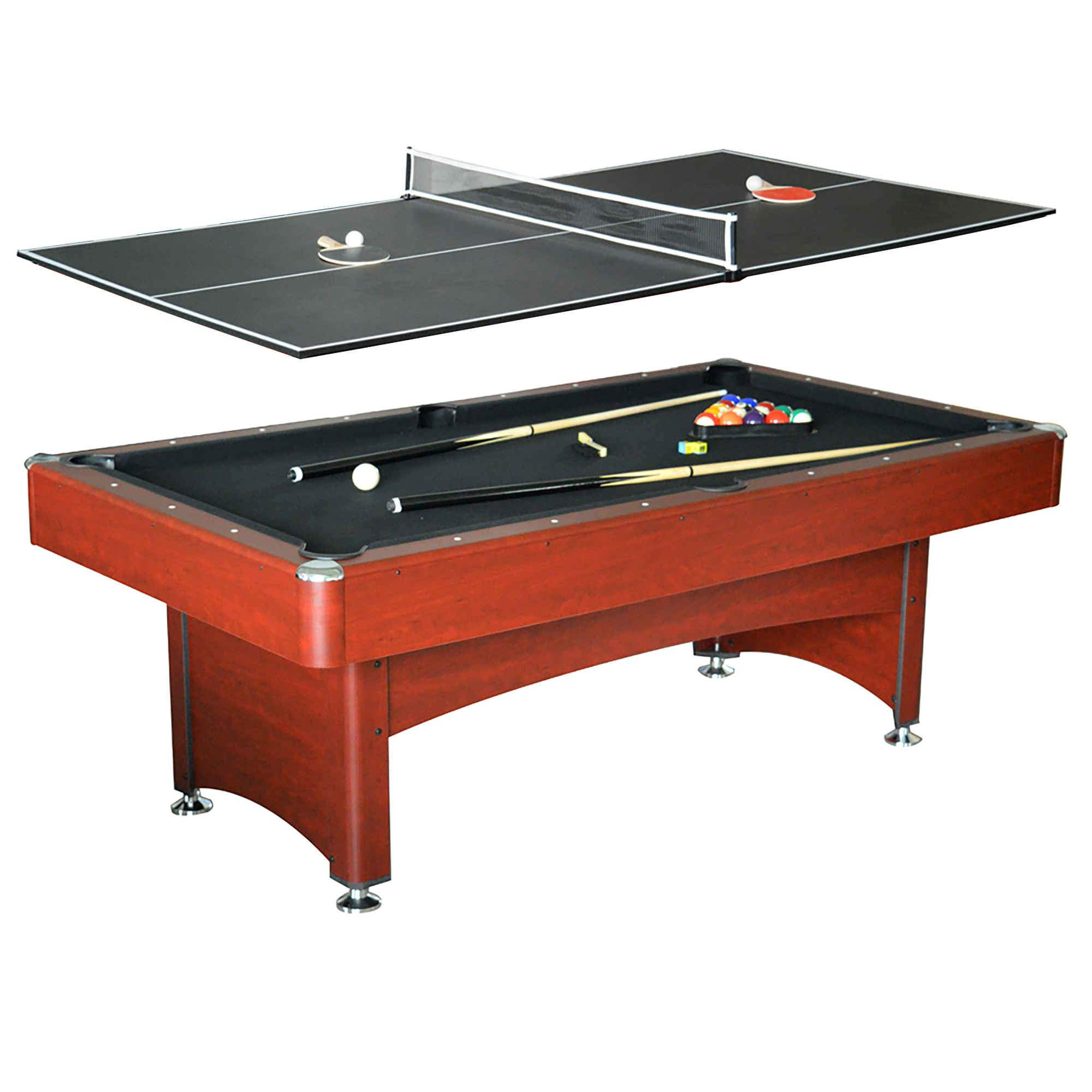 Bristol 7 ft pool table with table tennis top pool warehouse for 10 foot billiard table