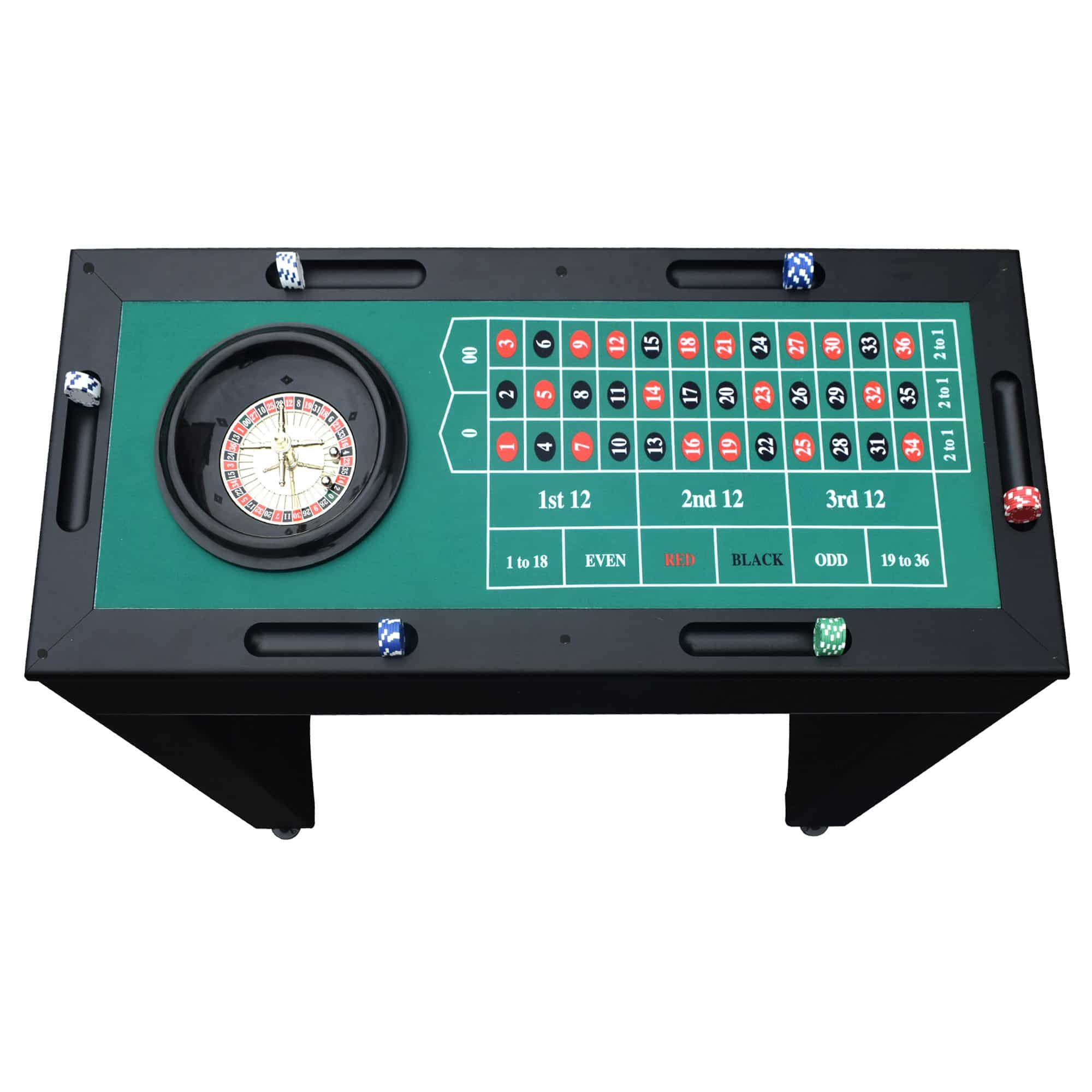 Monte Carlo 4 In 1 Casino Game Table Pool Warehouse