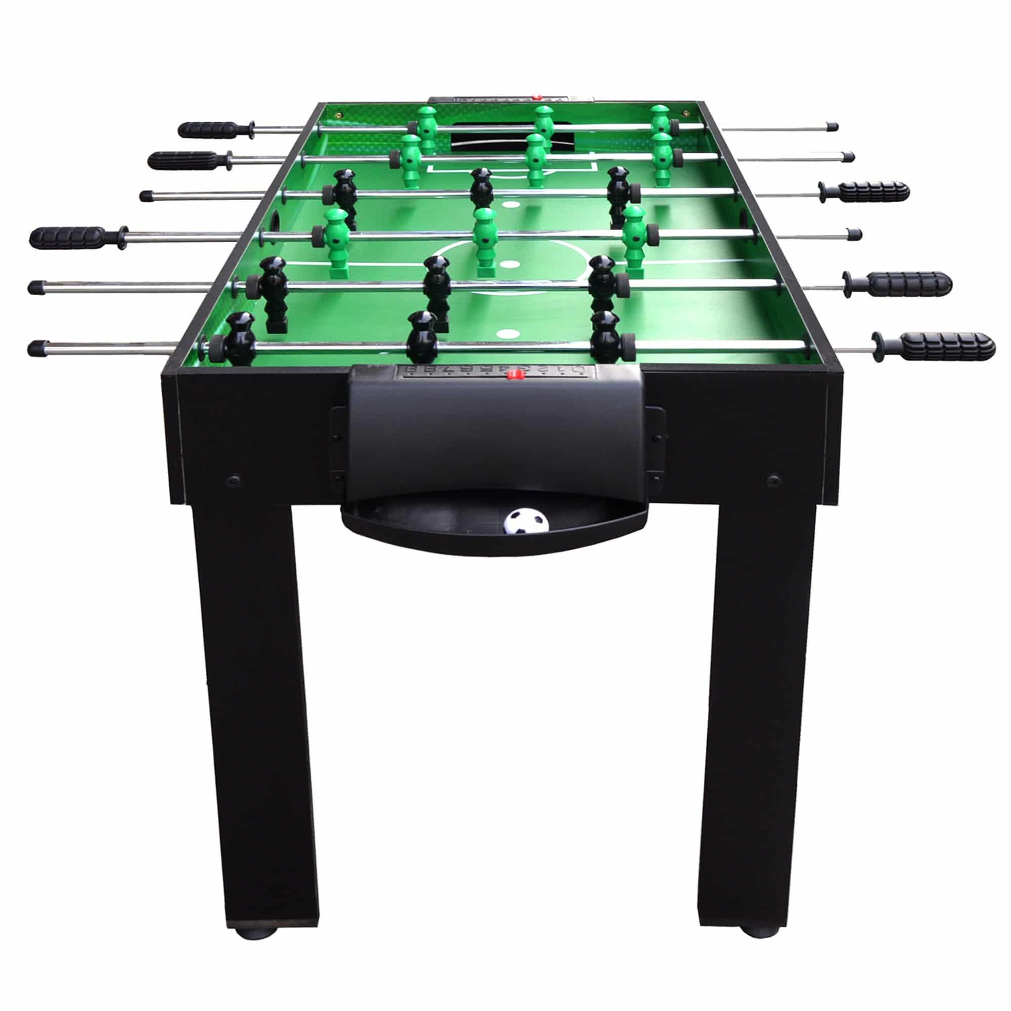 Playmaker 3 In 1 Foosball Multi Game Table