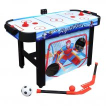 Rapid Fire 42 In 3-in-1 Air Hockey Multi-Game Table