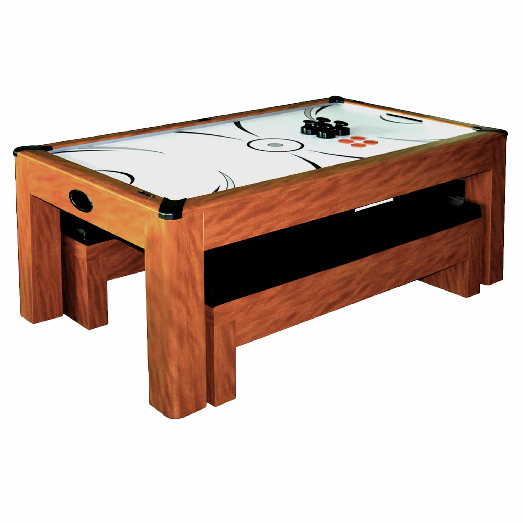 Sherwood 7 Ft Air Hockey Table With Benches