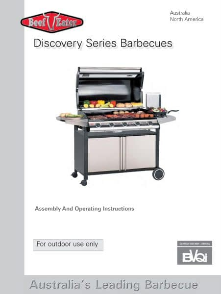 Beefeater discovery i1000r series build in bracket set for Pool show discovery