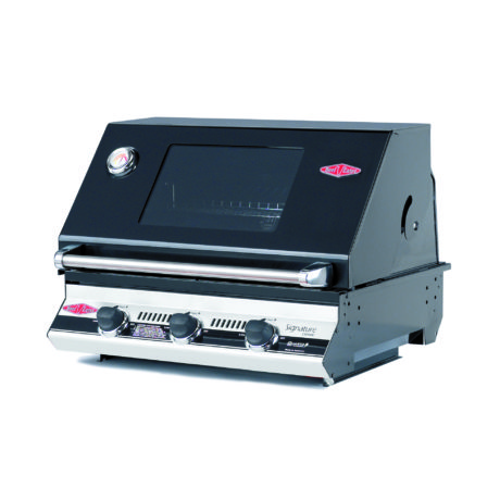 BeefEater Signature Black S3000e Series Built-In 3 Burner BBQ