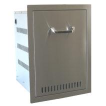 BeefEater Stainless Steel Propane Drawer / Door Combo