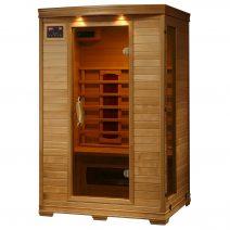 Coronado 2-Person Hemlock Deluxe Infrared Sauna