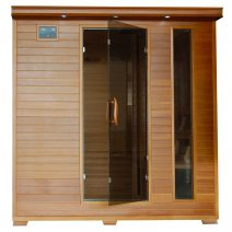 Great Bear 6-Person Cedar Infrared Sauna