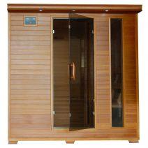 Great Bear 6-Person Cedar Infrared Sauna