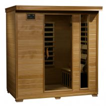 Monticello 4-Person Hemlock Infrared Sauna