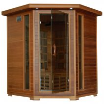 Whistler 4-Person Cedar Corner Infrared Sauna