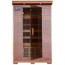 Yukon 2-Person Cedar Deluxe Infrared Sauna