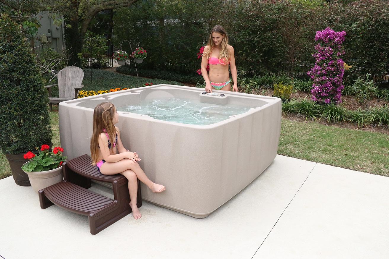 Aquarest  Person Spa Hot Tub