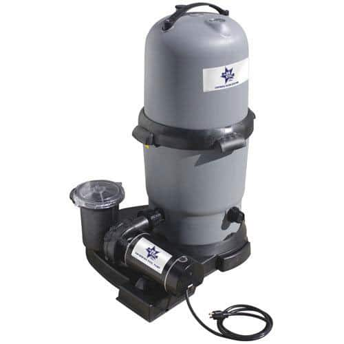Blue Star Clearwater Ii Cartridge Filter System With 1 Hp