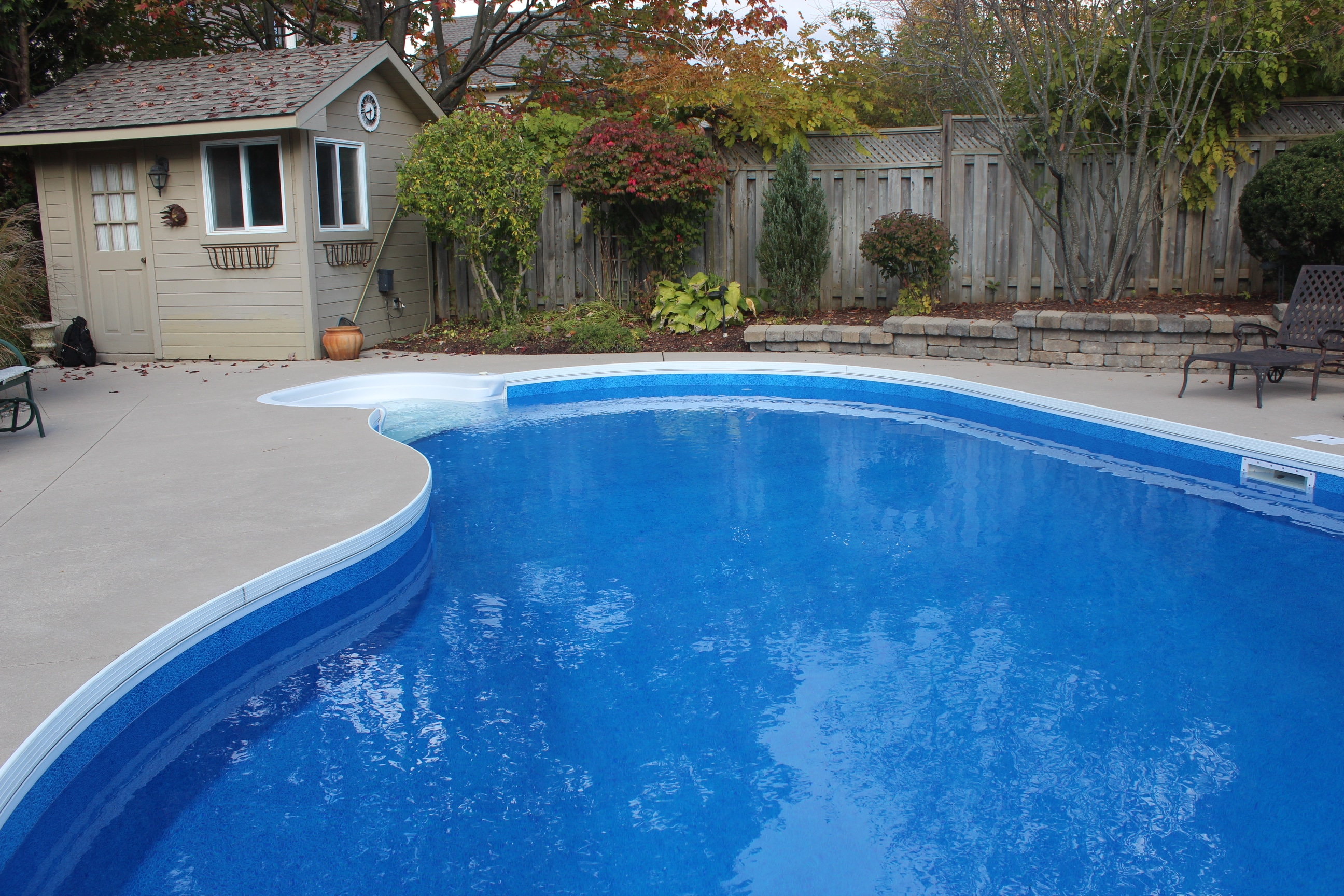 Caribbean Pebble Embossed High Deffenition Pool Liner