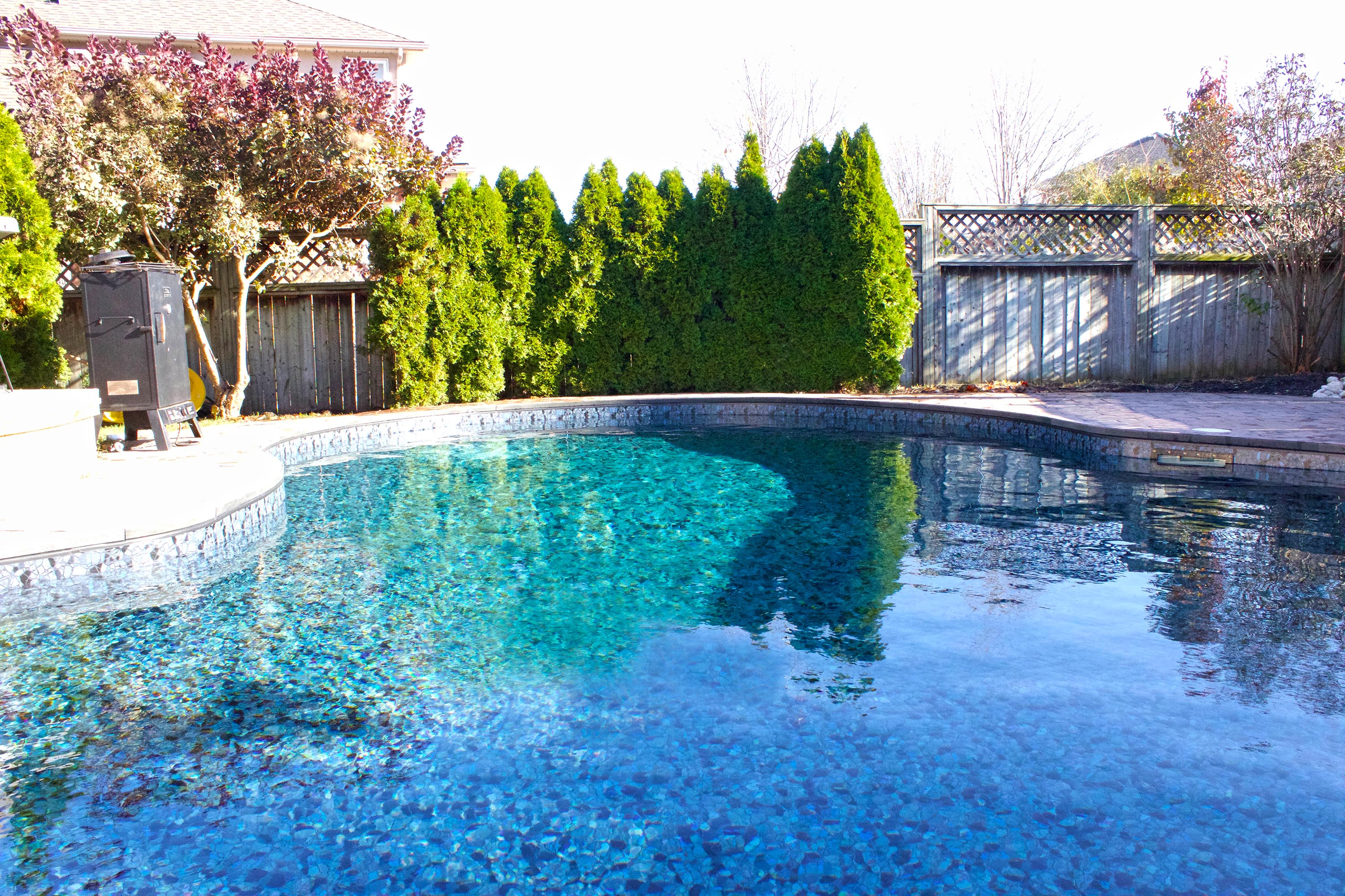 Shimmering Butterfly Effect Inground Pool Liner Pool