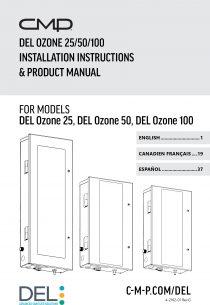 DEL Ozone APG Ozone Generator Manual