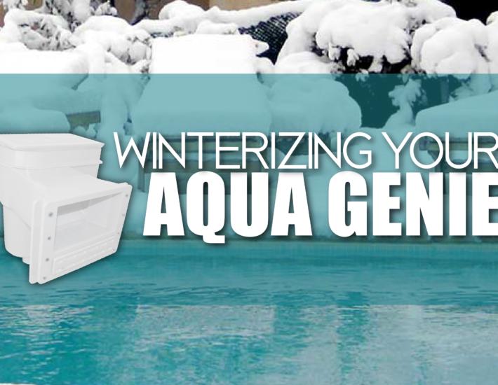 Winterizing Your Aqua Genie
