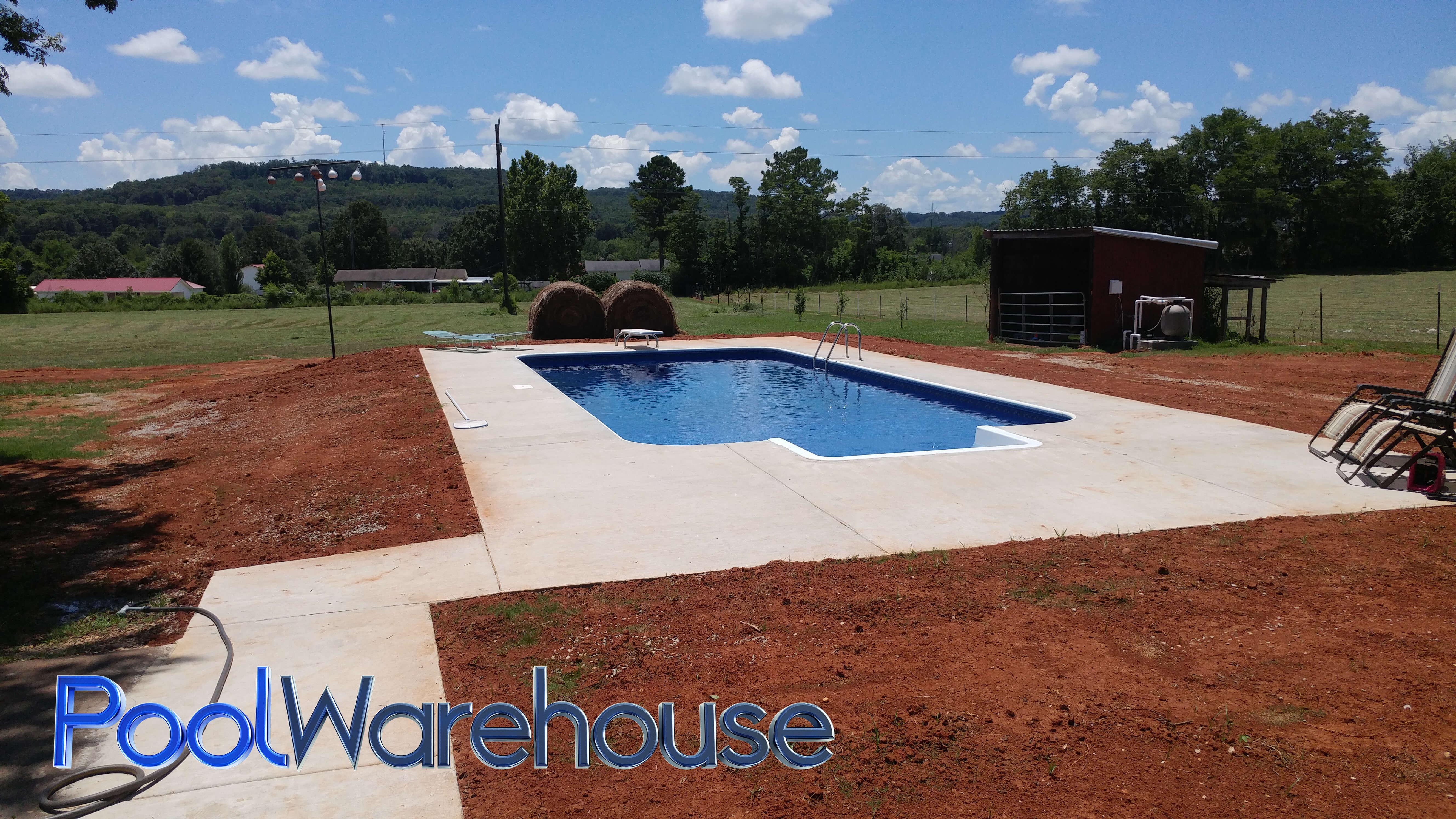 Mcwilliams Family Alabama Swimming Pool Kit Construction