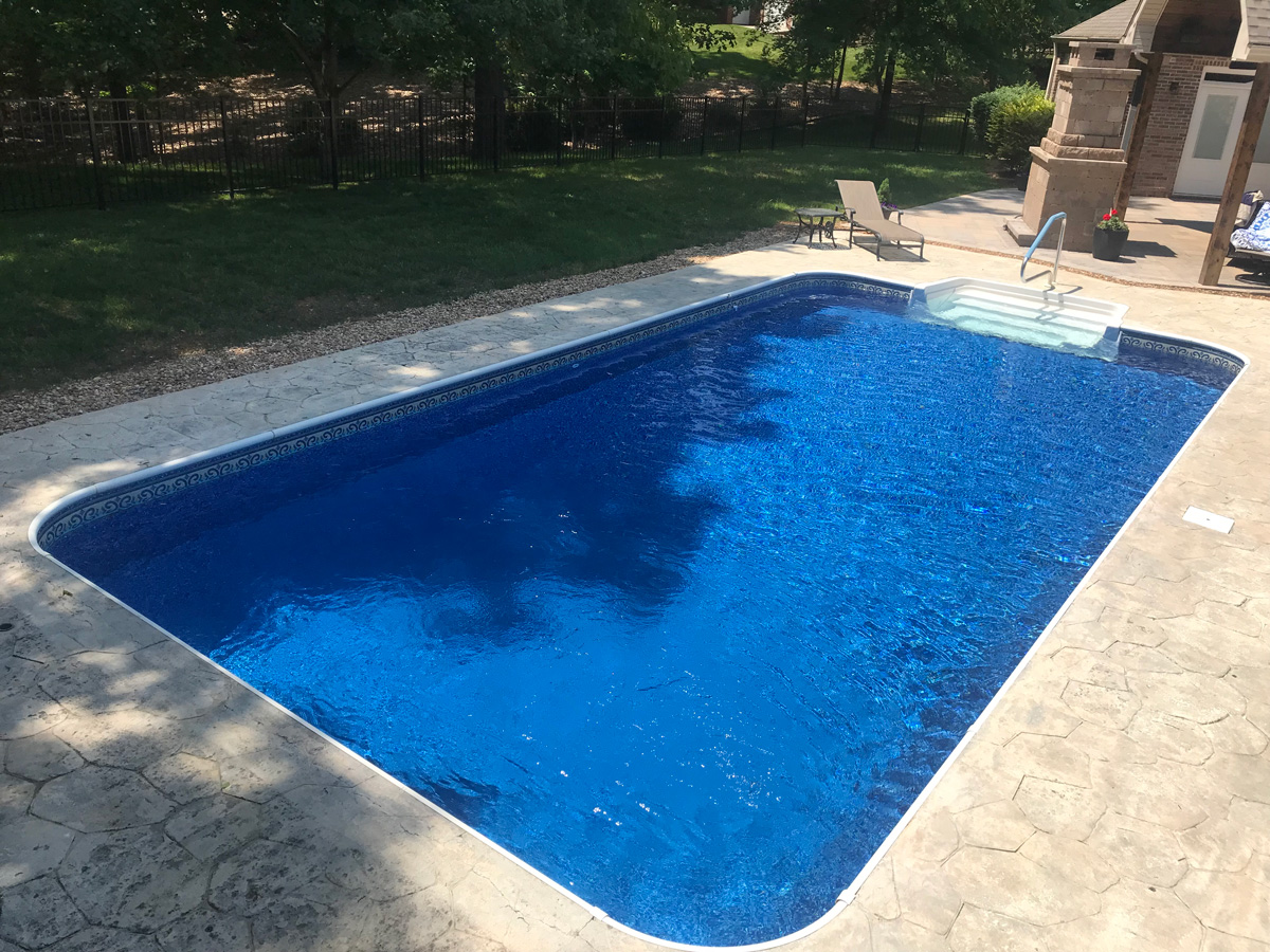 20 x 50 rectangle in ground swimming pool kit - Is there sales tax on swimming pools ...