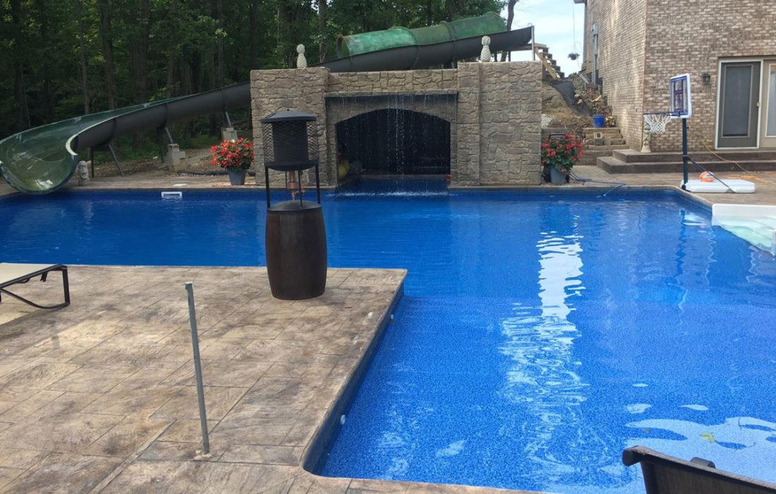 Amazing Swimming Pool Slide
