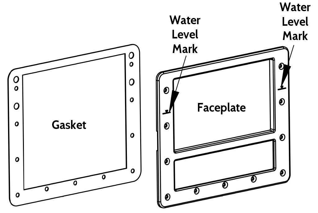 Aqua Genie Faceplate Installation